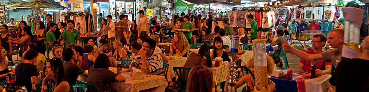 Headline for Bangkok's buzzing party streets - From partying in flip-flops to partying in stilettos