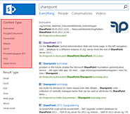 SharePoint 2013 Search - Content Type Refiner