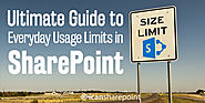 Ultimate guide to SharePoint size and usage limitations - icansharepoint