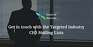 CEO Mailing Lists | CEO Email List - Chief Executive Officers Lists