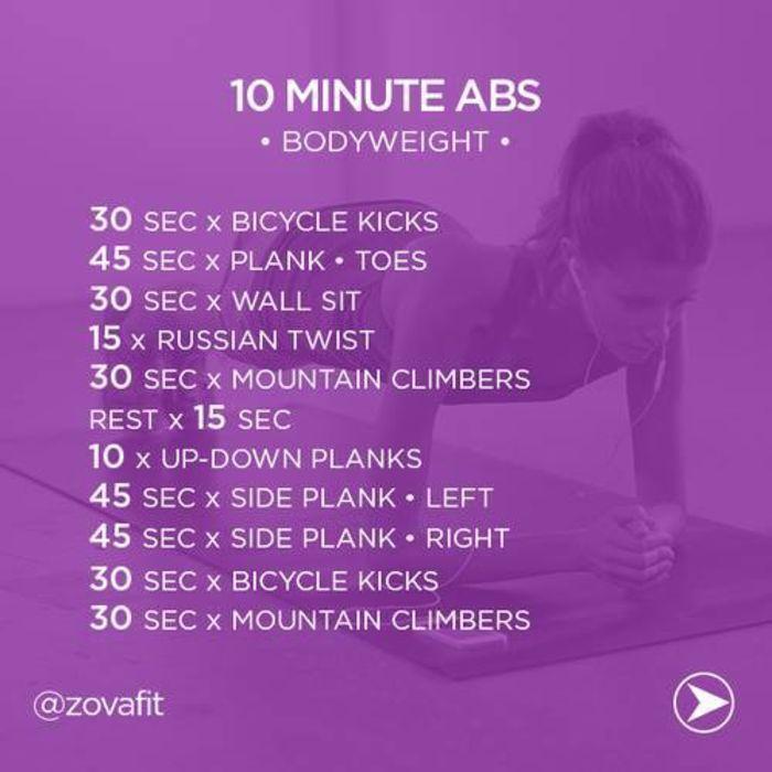 Ab workouts women flat stomach