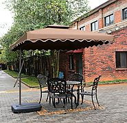 Tylor's Garden 8-1/2 Ft Cantilever Outdoor Patio Umbrella