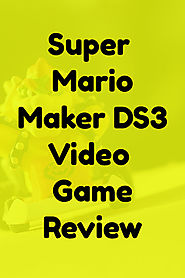 Super Mario Maker 3DS Review 2017 - Great Gift Ideas | Home and Garden