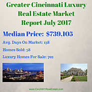 July 2017 Greater Cincinnati Luxury Real Estate Market Information