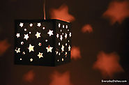 DIY Paper Lantern Craft