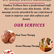 Tomken Wellness Massage Services in Mississauga