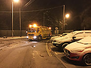 Monitoring snow and ice on highways for winter gritting (smart road case)