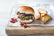 Ksar Char-Bagh Moroccan Beef Burgers null