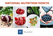 March - National Nutrition Month, Create Wonderful Dietitian And Nutritionist Websites