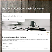 Ergonomic Computer Chair For Home