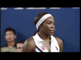 Venus Williams: How to Warm-up & Train