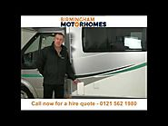 Motorhome hire and campervan rental Birmingham - Call 0121 562 1980