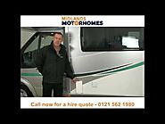 Motorhome hire and campervan rental Midlands - Call 0121 562 1980