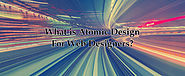 What is Atomic Design for Web Designers?