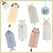 Shop Animal Hooded Towels Collection at Little West Street
