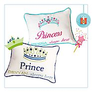 Shop Personalized Pillows Towels Set Collection at Little West Street