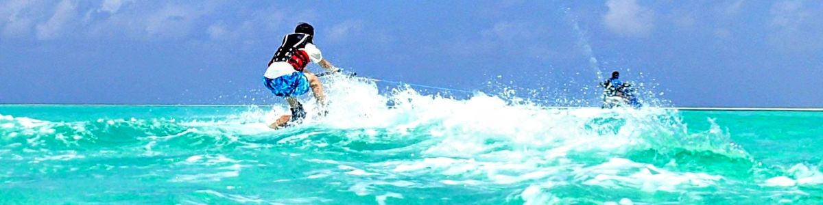 Headline for 6 Exciting Water Sports in Maldives - Learn Cool New Tricks in the Surf
