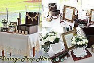 Vintage Props Hire for Weddings and Events