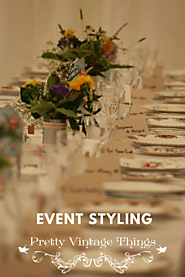 Prettyvintagethings - Vintage Event Styling