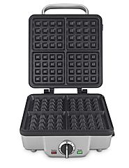 Cuisinart WAF-300 Belgian Waffle Maker with Removable Pancake Plates Review