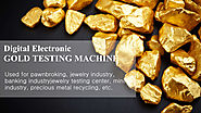 Gold-testing-machine