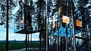 The Mirrorcube Treehouse Hotel