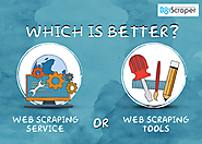 Web Scraping Services Versus Scraping tool Softwares
