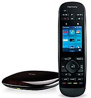 Logitech Harmony Ultimate All in One Remote with Customizable Touch Screen and Closed Cabinet RF Control, works with ...