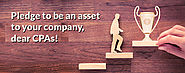 Pledge to be an asset to your company, dear CPAs!