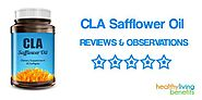 CLA Safflower Oil Reviews | The Truth on CLA Safflower Oil Dietary Supplements - Healthy Living Benefits