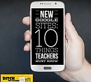 NEW Google Sites: 10 things teachers must know