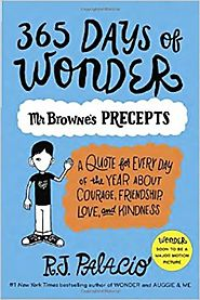 365 Days of Wonder: Mr. Browne's Precepts Paperback – August 30, 2016