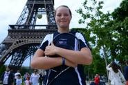 Paris postcard from 12-year-old future tennis ace
