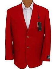 Make You Look Bold And Special By Wearing Red Mens Blazer