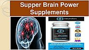 Best Mental Sharpness Supplements
