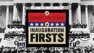 Brief History of Inauguration Firsts, with Chris Matthews