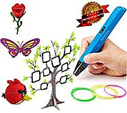 3D Printing Pen Doodle Printer Pen With LED / OLED Screen 4th Generation Newest Technology V4 RP800A Lightweight Port...
