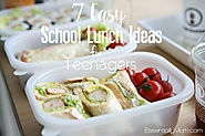7 Easy School Lunch Ideas for Teenagers
