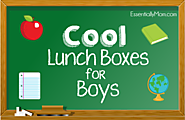 Cool Boys Lunch Bags for Elementary School