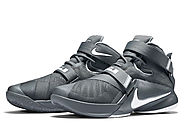 Lebron Soldier 9 grey/white