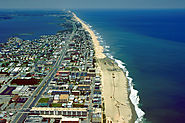Ocean City, Maryland is more of a city beach with a lot of high rises but still is a nice clean beach.