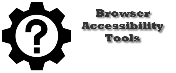 Headline for Browser Accessibility Tools