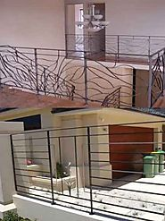 wrought iron balustrade designs