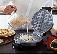 Eco-Friendly Oster DuraCeramic Waffle Maker – Teflon Free, Nontoxic, Easy to Clean