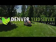 Denver yard service : Lawn care and more 720-515-5030