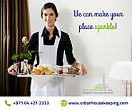 Urban Housekeeping Maids Dubai - Best Cleaning Services | Maid Services