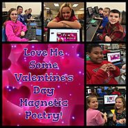 Love Me Some Valentine's Day Magnetic Poetry