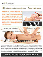 Acupuncture Treatments for Back Pain