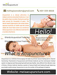 Lower Back Pain Acupuncture