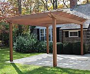 Raw Materials Used In Pergola Designs and Patio Construction